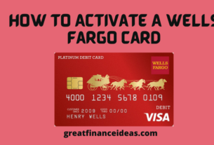 Activate A Wells Fargo Card
