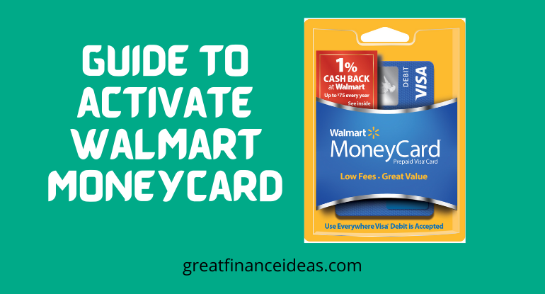 activate Walmart Money card