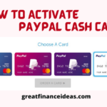 3 Ways to Activate PayPal Cash Card