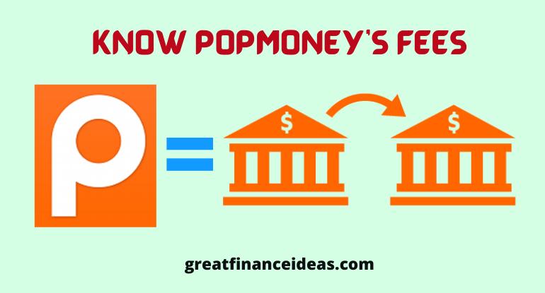 Popmoney's fees