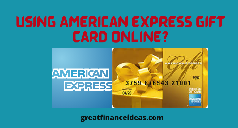 American Express Gift Card Online?