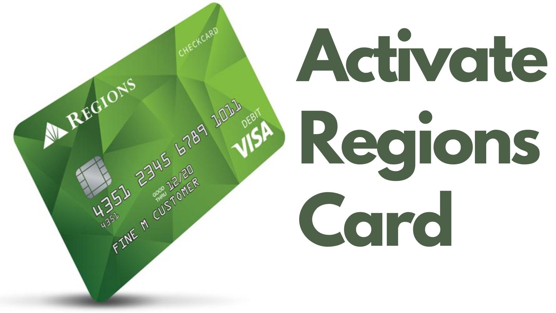 activate regions card