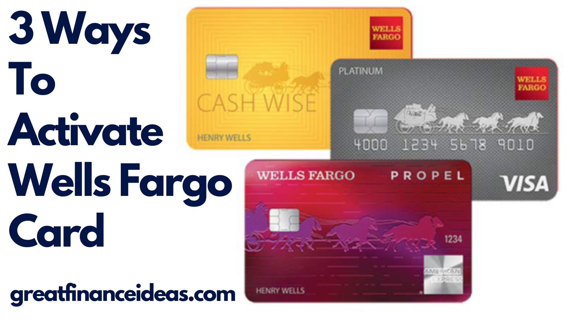activate Wells Fargo Credit Card