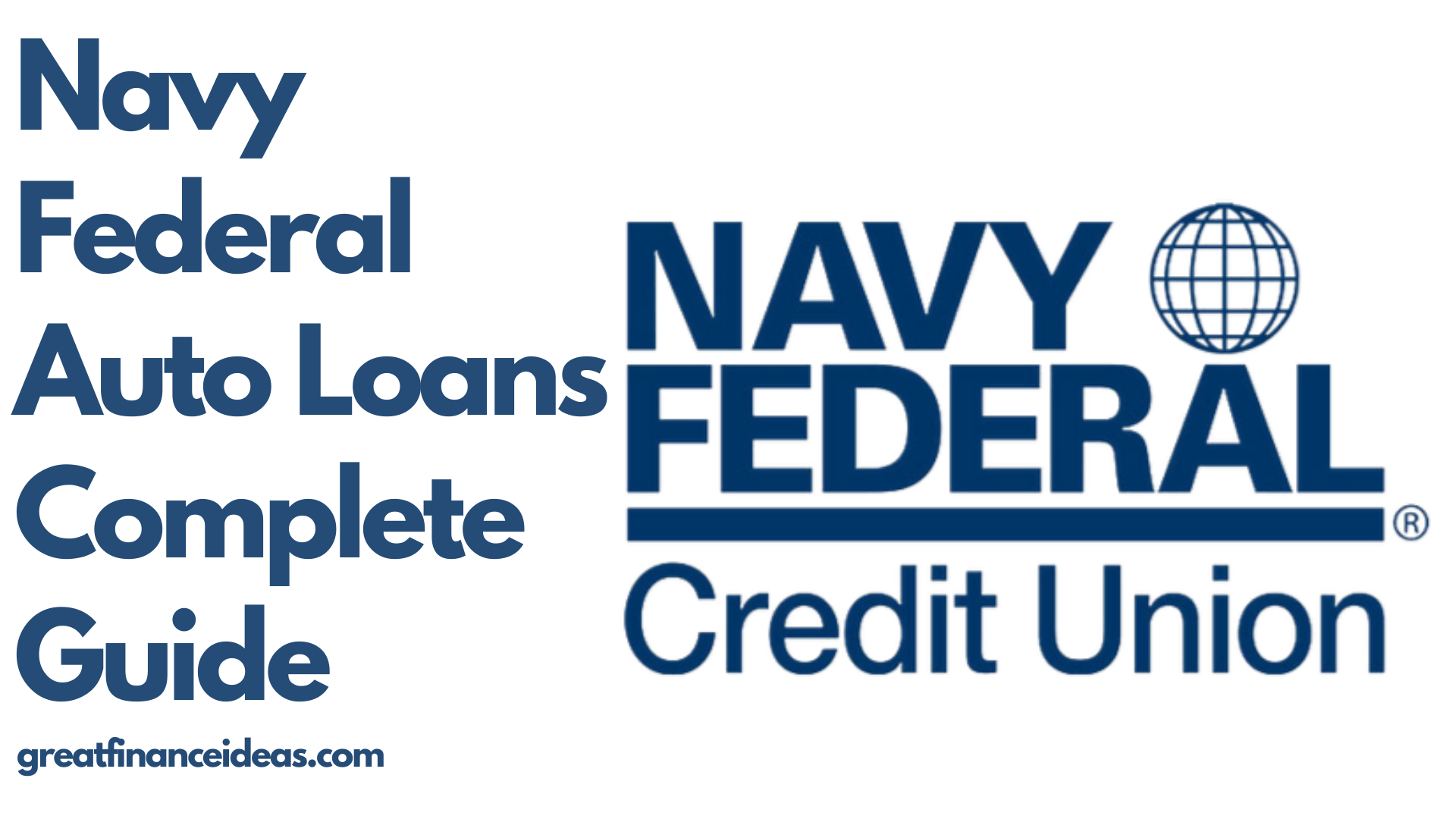 Navy Federal Auto Loans