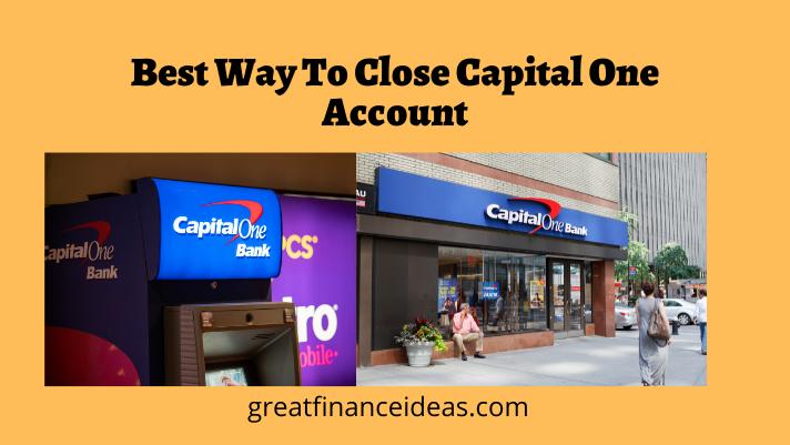 Close Capital One Account