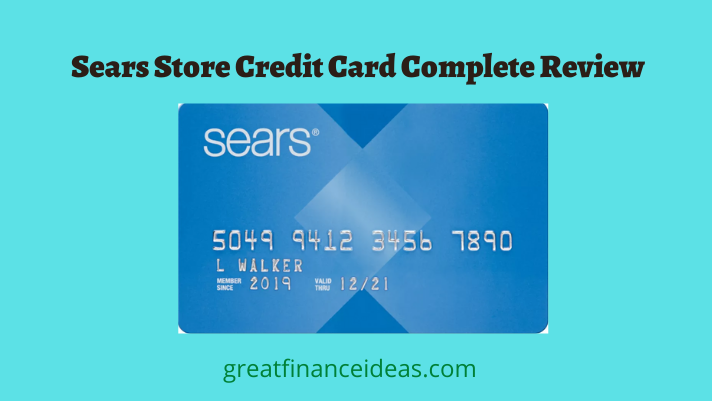 Sears Store Credit Card