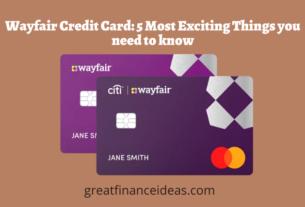 Wayfair Credit Card