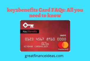key2benefits Card FAQs