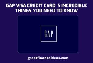 Gap Visa Credit card
