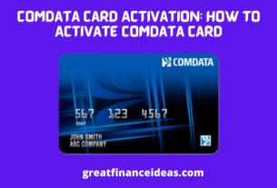 How to Activate Comdata Card