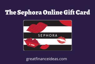 Sephora Online Gift Card