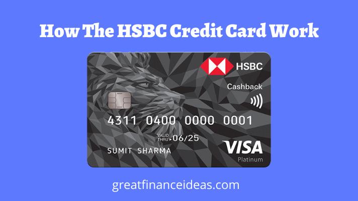 HSBC Credit Card Work