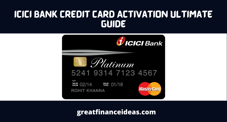 ICICI Bank Credit Card Activation