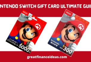 Nintendo Switch Gift Card