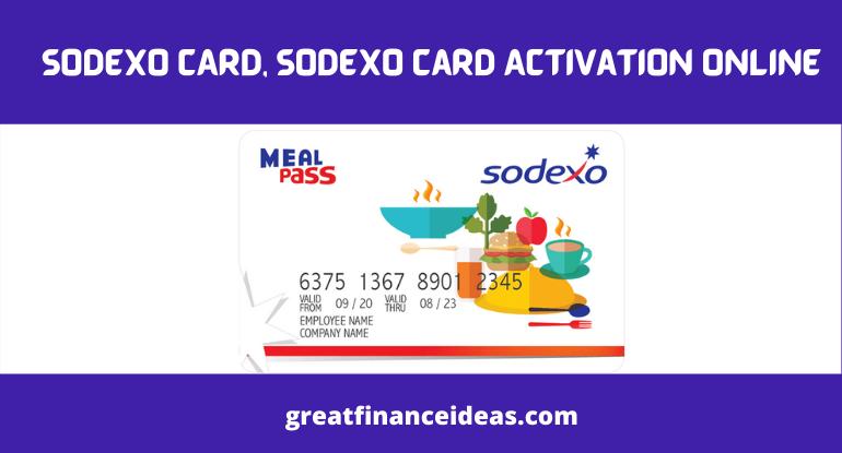 SODEXO CARD