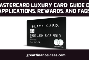 Mastercard Luxury Card