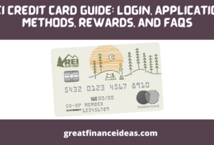 REI Credit Card Guide