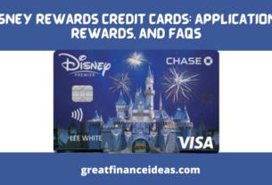 Disney Rewards Credit Cards