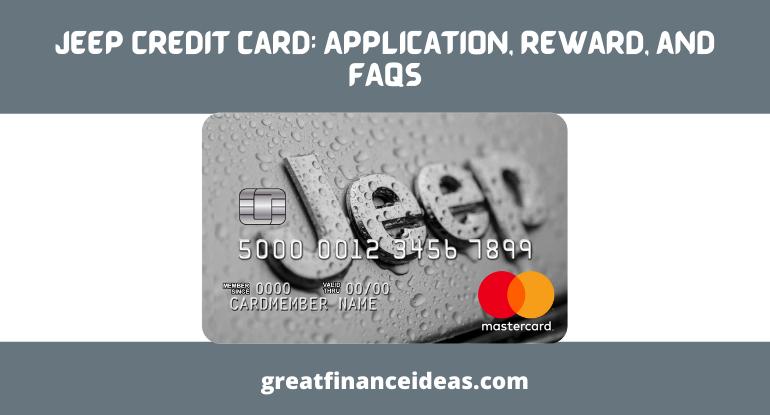 Jeep Credit Card